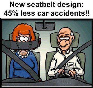 New Seatbelt design