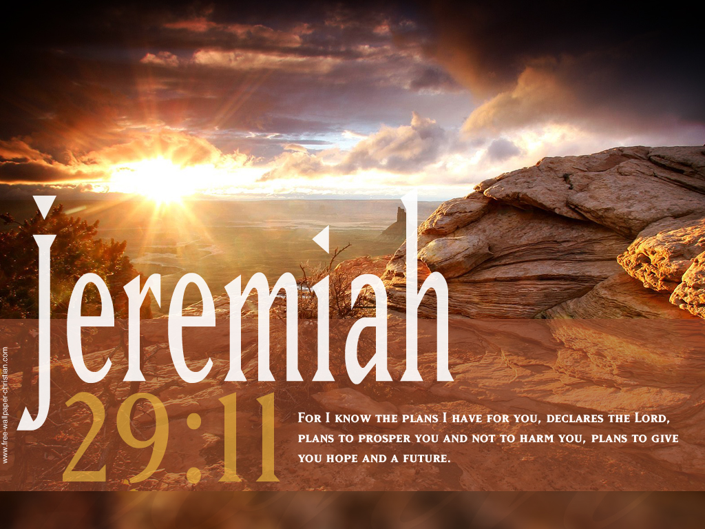 Desktop Bible Verse Wallpaper Jeremiah 29 11