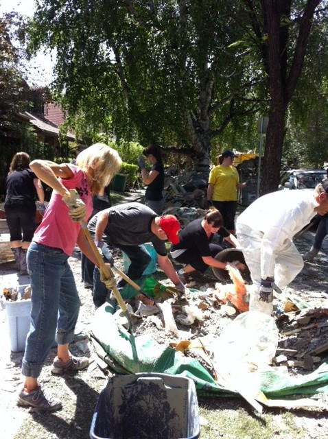 Clean Up after the flood