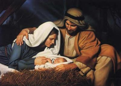 Jesus, Joseph and Mary
