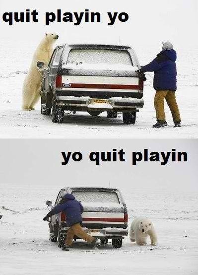 Quit playin