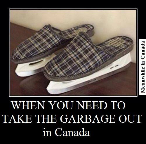 Meanwhile in Canada Garbage