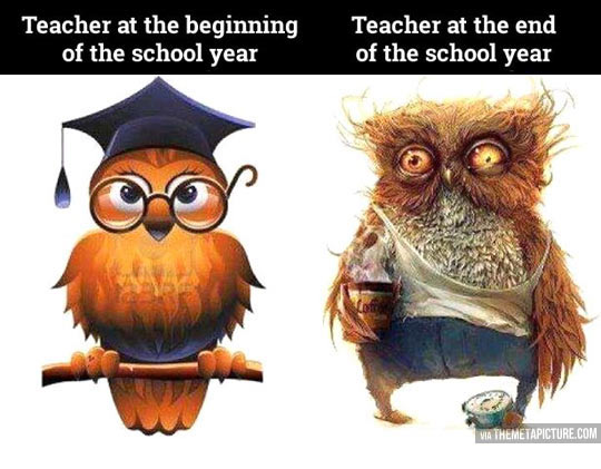 Beginning and Ending a School Year