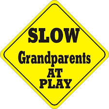 Slow Grandparents at Play