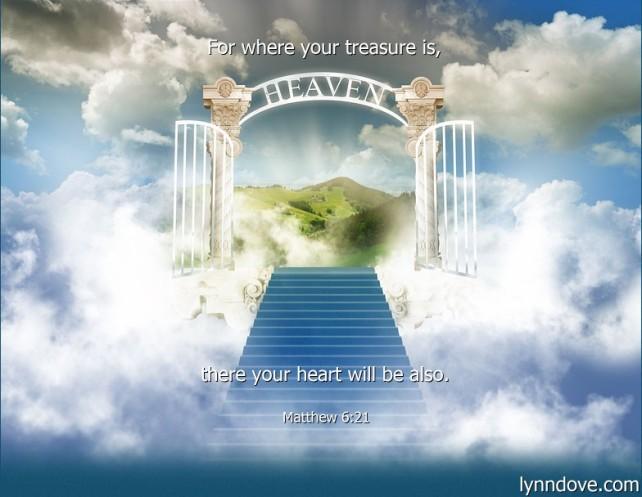 Matthew 6 21