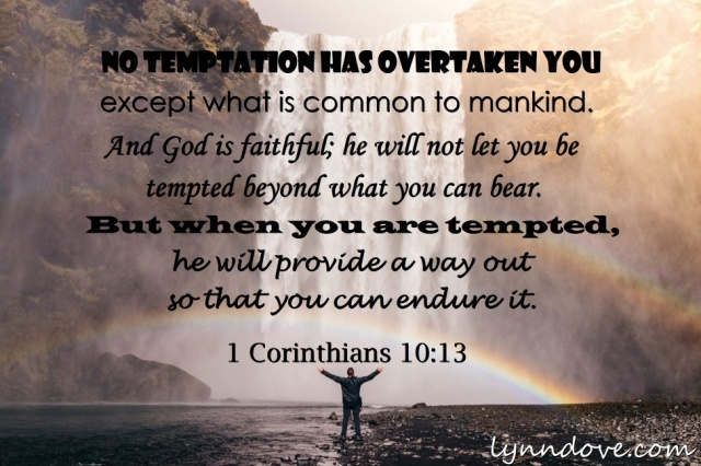 Image result for 1 corinthians 10:13